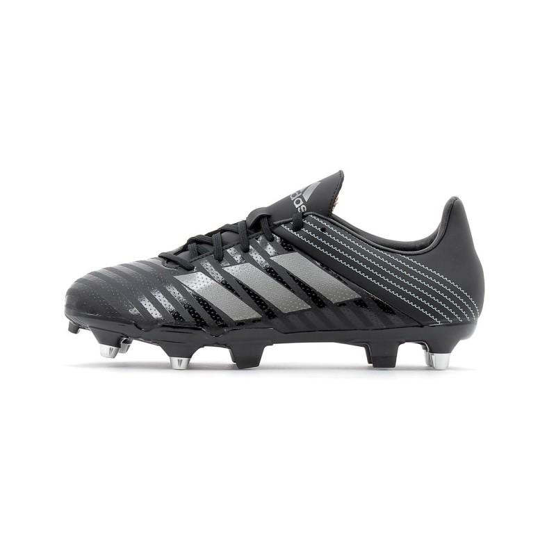arrives watch best prices Appréciez votre quotidien avec vos Chaussures de rugby - Adidas - Malice SG  - Taille 41 1/3 - Noir - Homme pas cher !